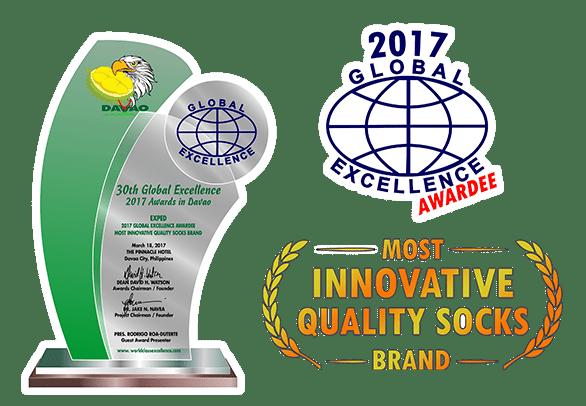 Global awards 2017 plaque
